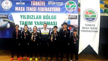 Yıldızlar Marmara Bölgesi Takım maçlarında üçüncü olduk