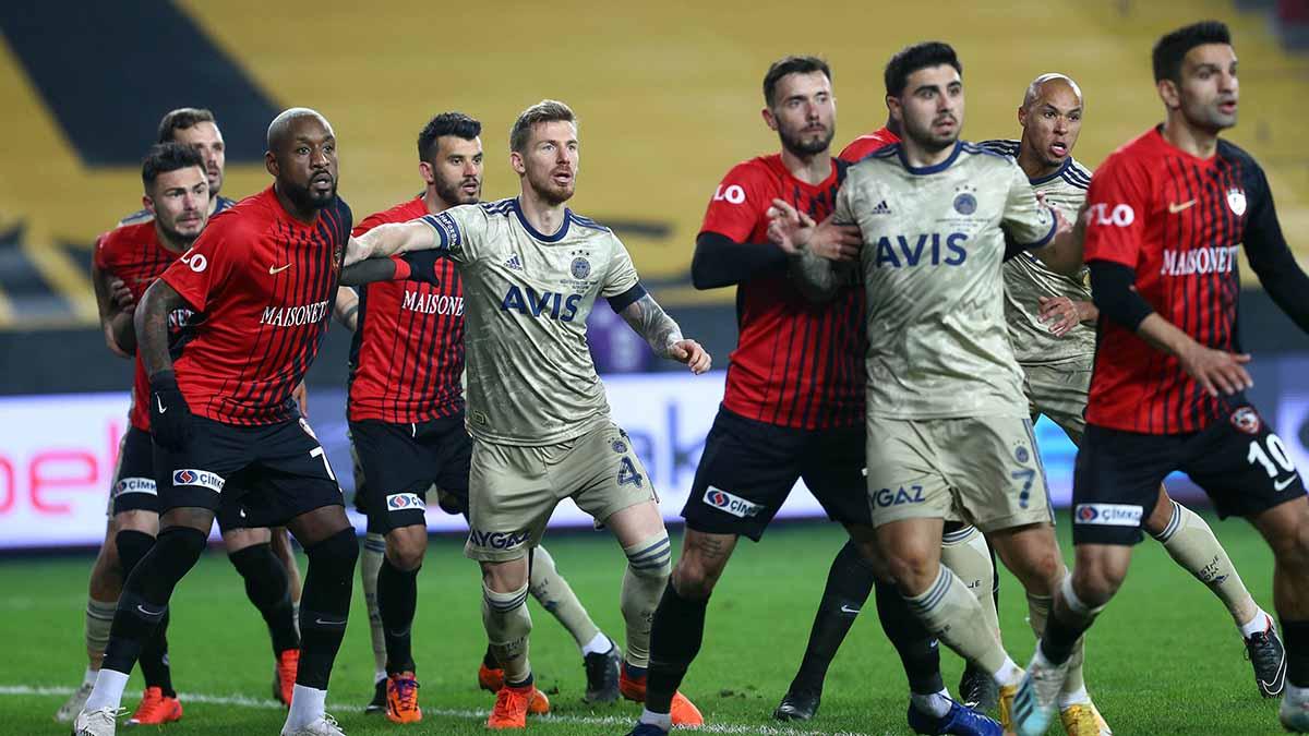 Fenerbahçemiz, Gaziantep FK ile karşılaşıyor