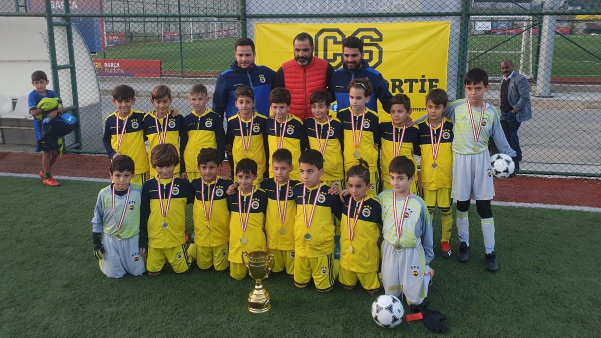 Fenerbahçe U10 takımımız şampiyon oldu