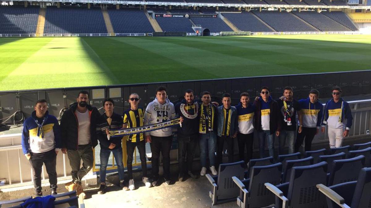 Fethiye Derneğimiz, Fethiyeli gençleri Fenerbahçe maçına gönderdi