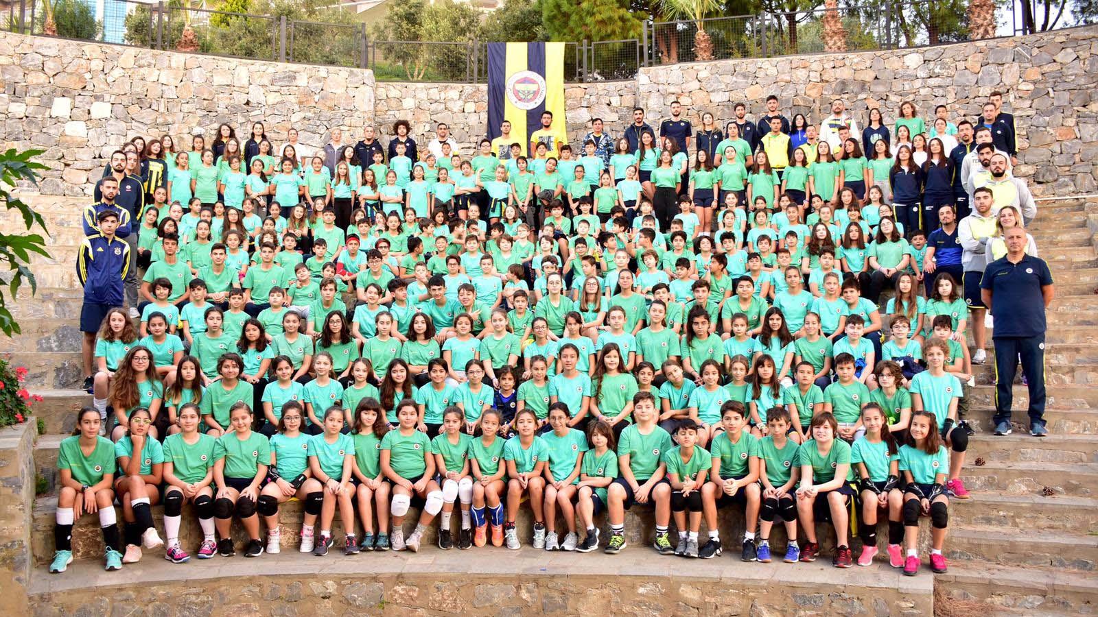 Fenerbahçe Spor Okulları Güz Kampı tamamlandı