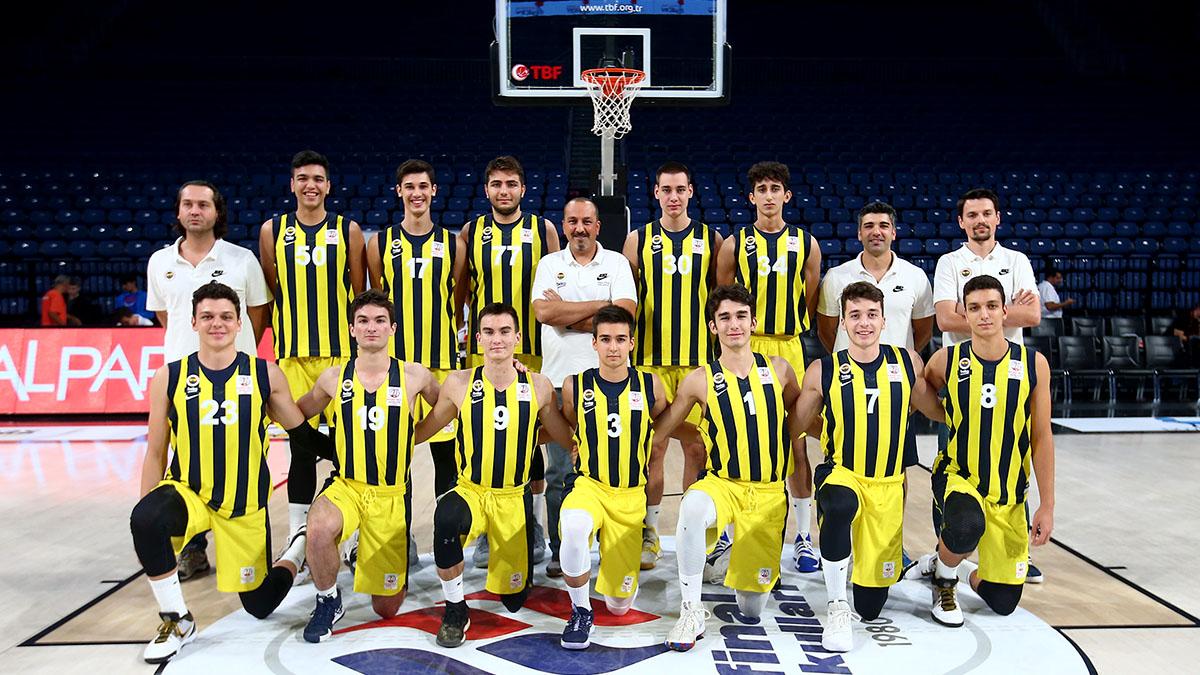 Fenerbahçe Beko Genç Erkek Basketbol Takımımız turnuvayı ikincilikle noktaladı