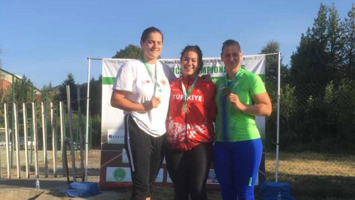 Atletlerimiz Balkan Şampiyonası'nda ilk günü 6 madalyayla tamamladı