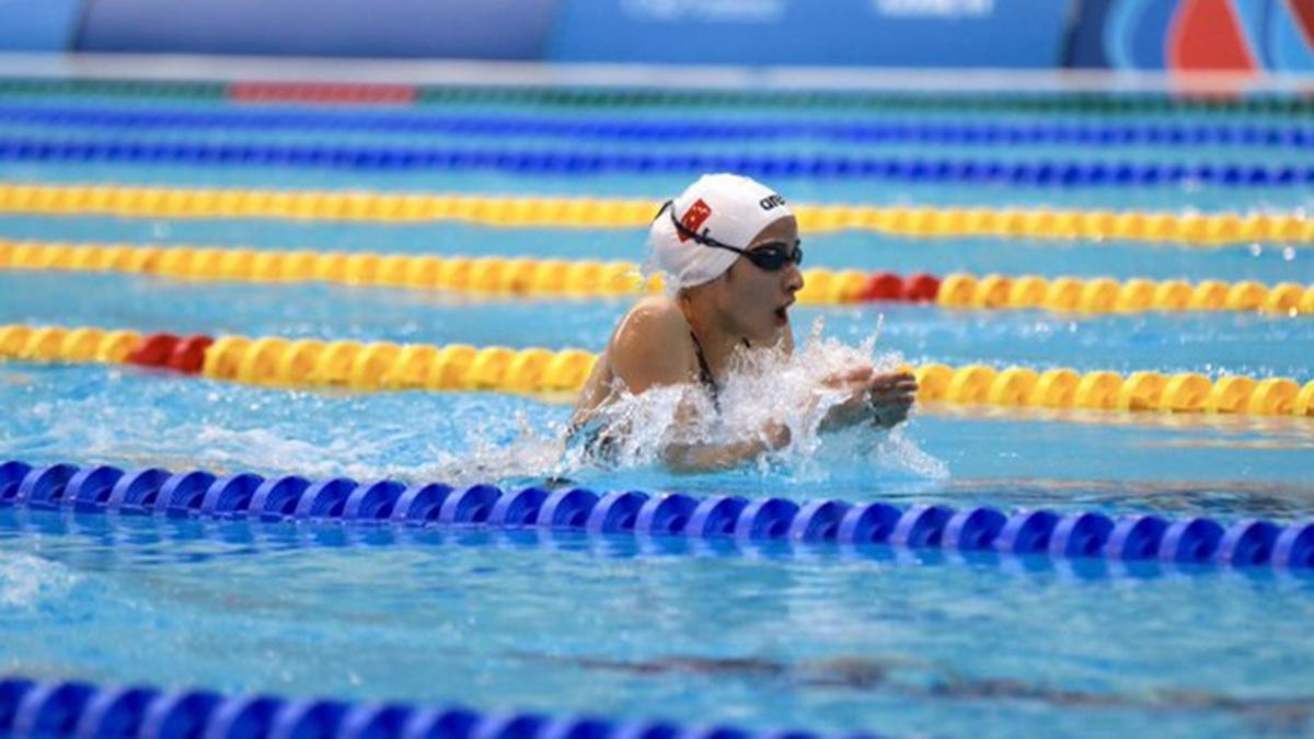 Milli yüzücümüz Deniz Ertan EYOF 2019'da bronz madalya kazandı