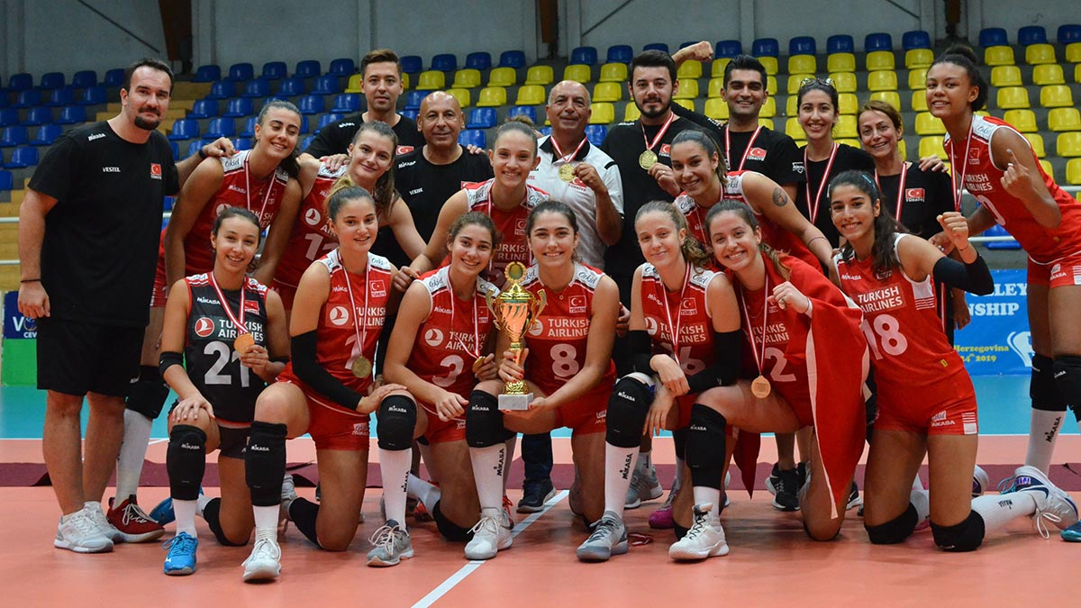 U17 Genç Kız Milli Takımımız Namağlup Balkan Şampiyonu