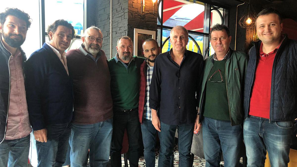 Sakarya Derneğimiz Fenerbahçe Beko'yu karşıladı