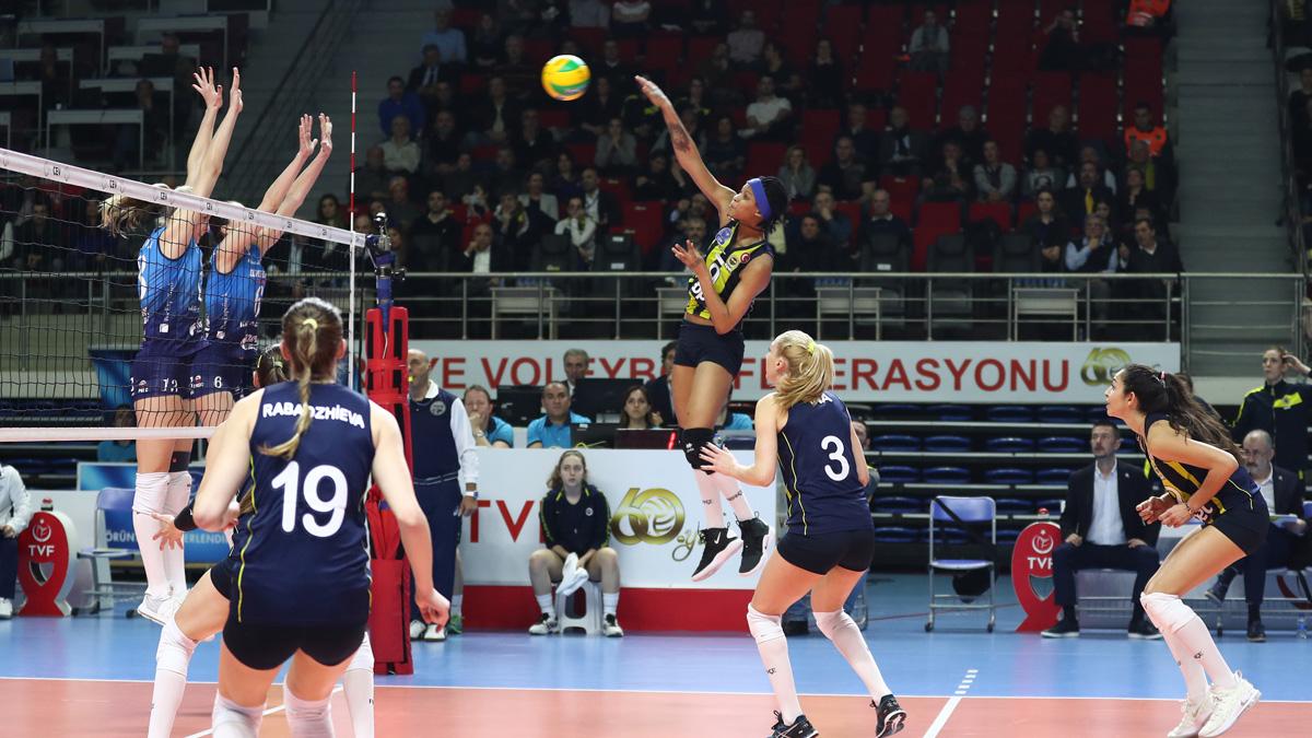 Fenerbahçe Opet 2-3 Dinamo Moskova