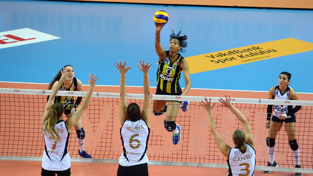 Vakıfbank 3-0 Fenerbahçe Opet
