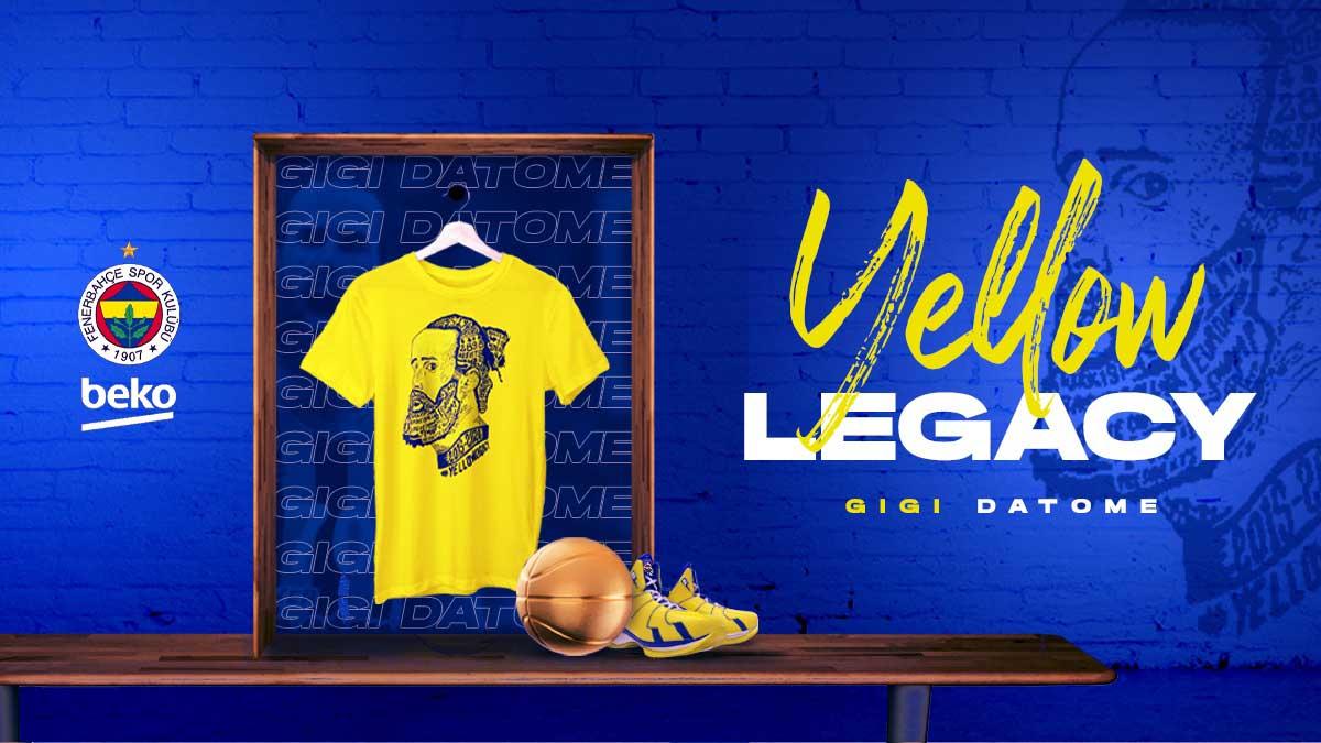 Gigi Datome t-shirtleri Fenerium web sitesinde satışta