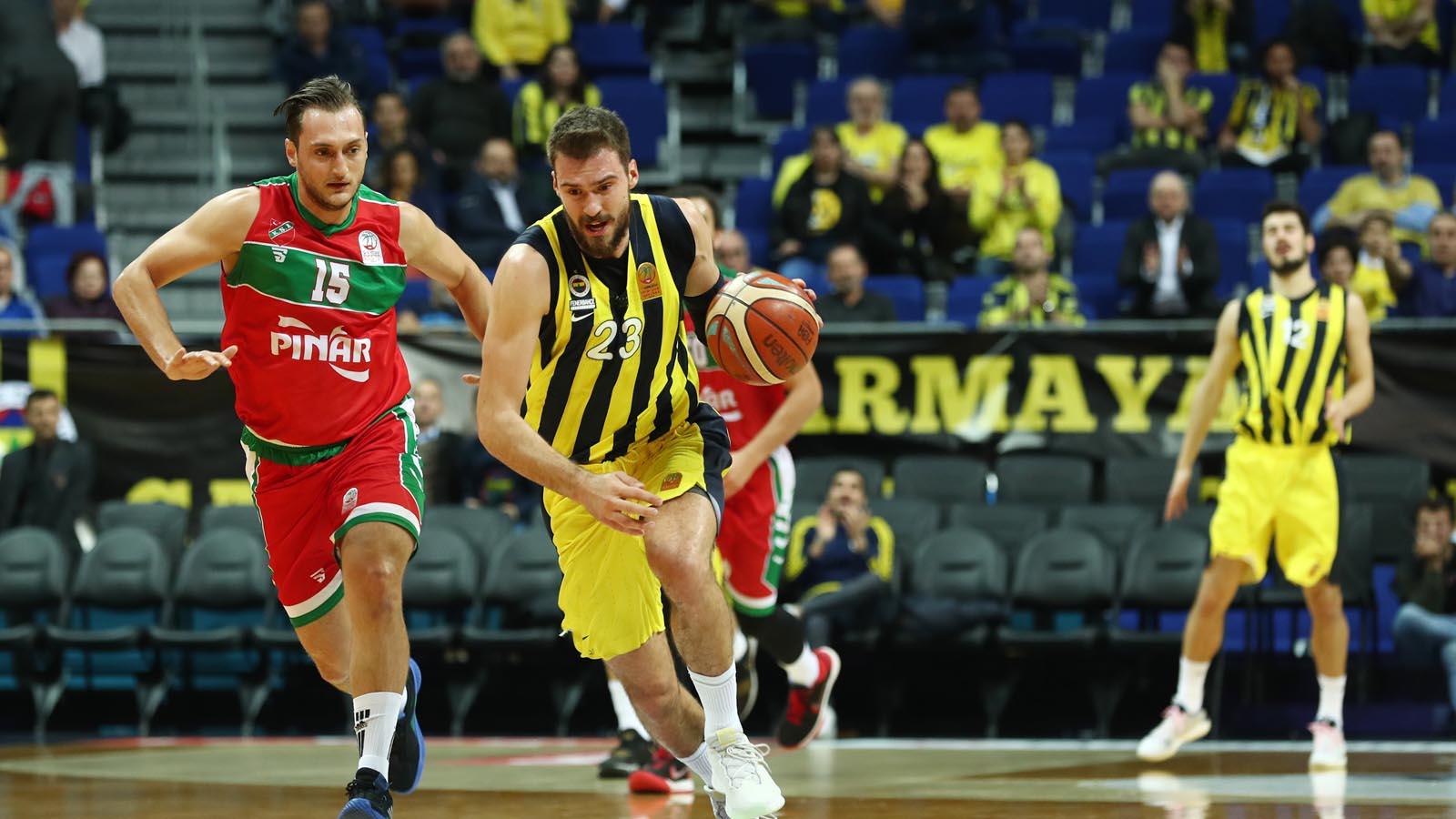 Pınar Karşıyaka 81-88 Fenerbahçe Beko