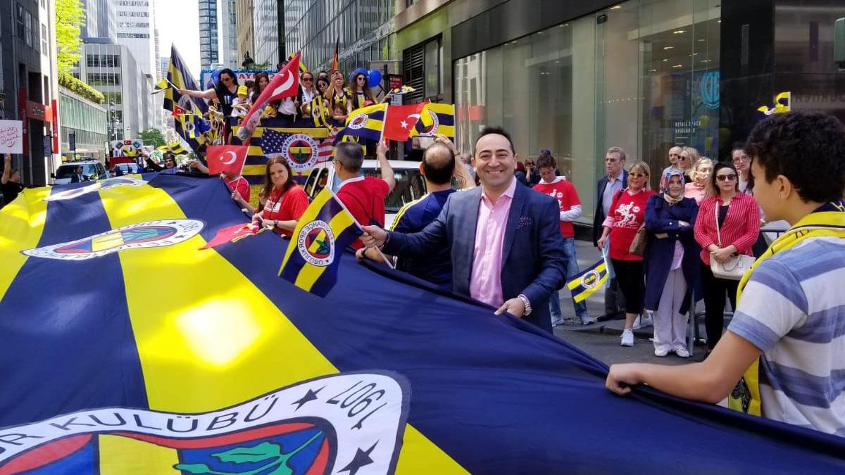 Fenerbahçe USA Derneğimiz, New York'ta 19 Mayıs 100. yıl kutlamasına katıldı