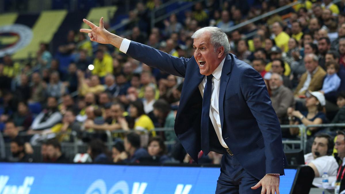 Başantrenörümüz Zeljko Obradovic ve Ahmet Düverioğlu'ndan maç sonu değerlendirmesi