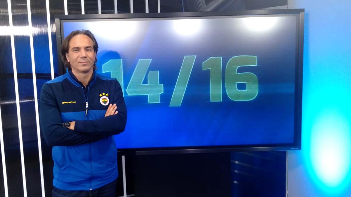 Fenerbahçe Futbol Akademi Genel Koordinatörü Serdar Dayat 14/16'nın konuğu oldu