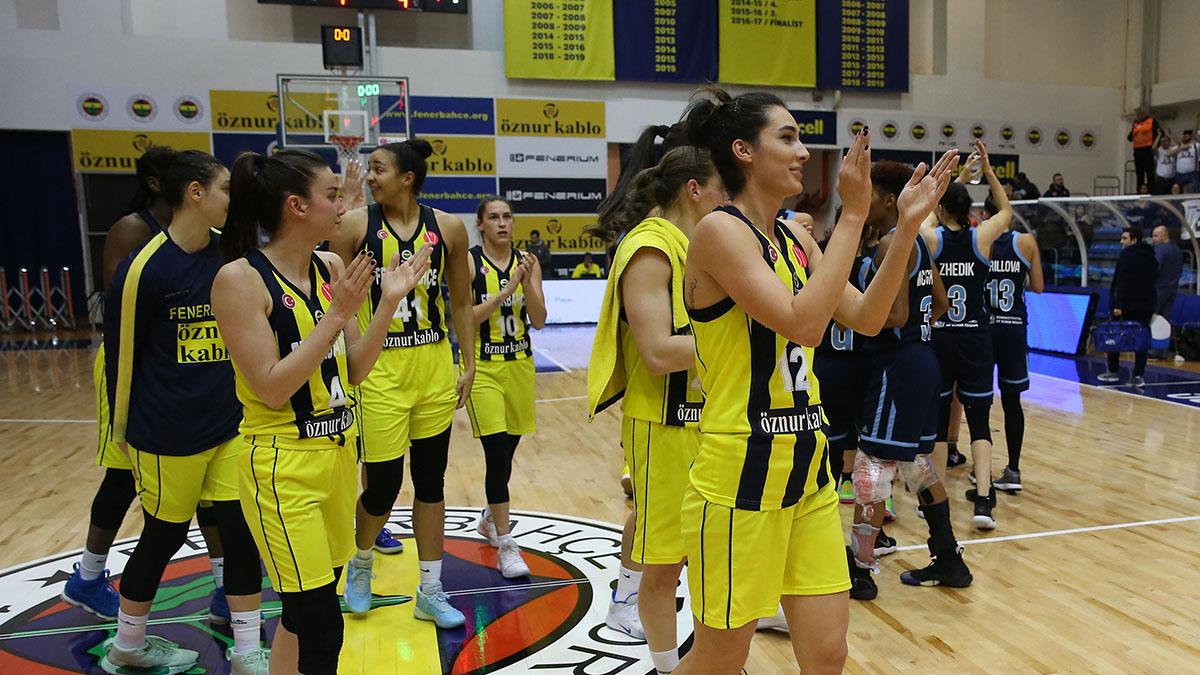 Fenerbahçe Öznur Kablo EuroLeague'de çeyrek finali garantiledi