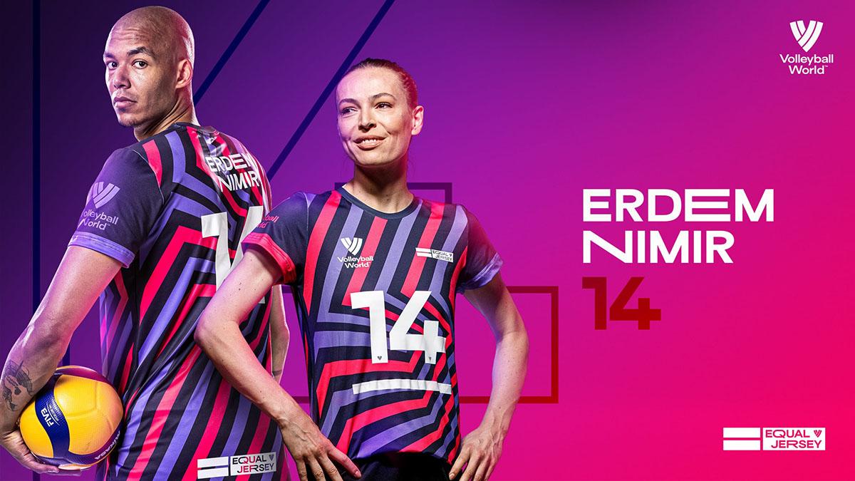 A Milli ve Fenerbahçe Opet Kadın Voleybol Takımımızın kaptanı Eda Erdem Dündar 'Eş Forma' girişimine katılacak