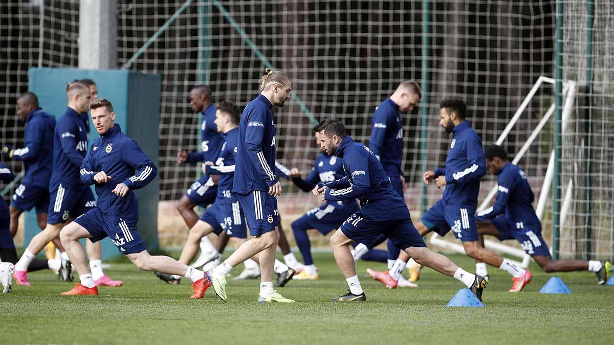 Gaziantep FK maçı hazırlıkları tamamlandı
