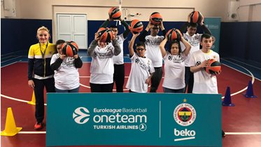 Fenerbahçe Beko, One Team projesine start verdi