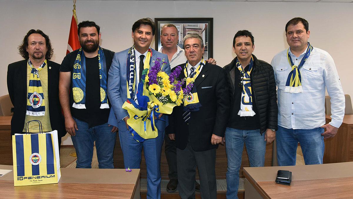 Fethiye Fenerbahçeliler Derneği, Belediye Başkanını ziyaret etti