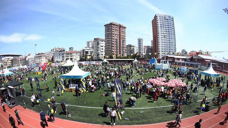 Fenerbahçe Çocuk ve Gençlik Kulübü'nden Coşku Dolu 23 Nisan Şenliği