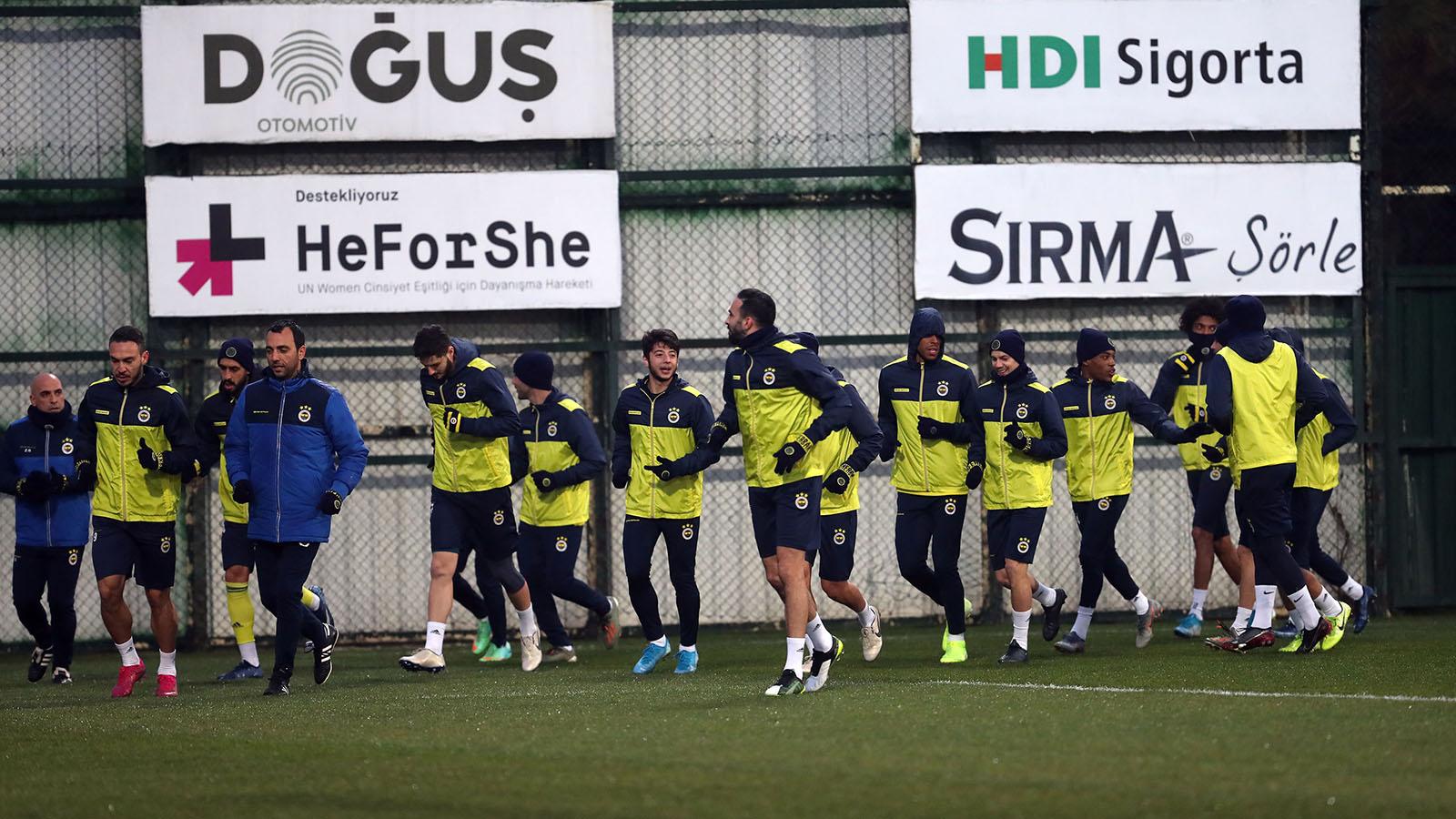 Hes Kablo Kayserispor maçı hazırlıkları tamamlandı