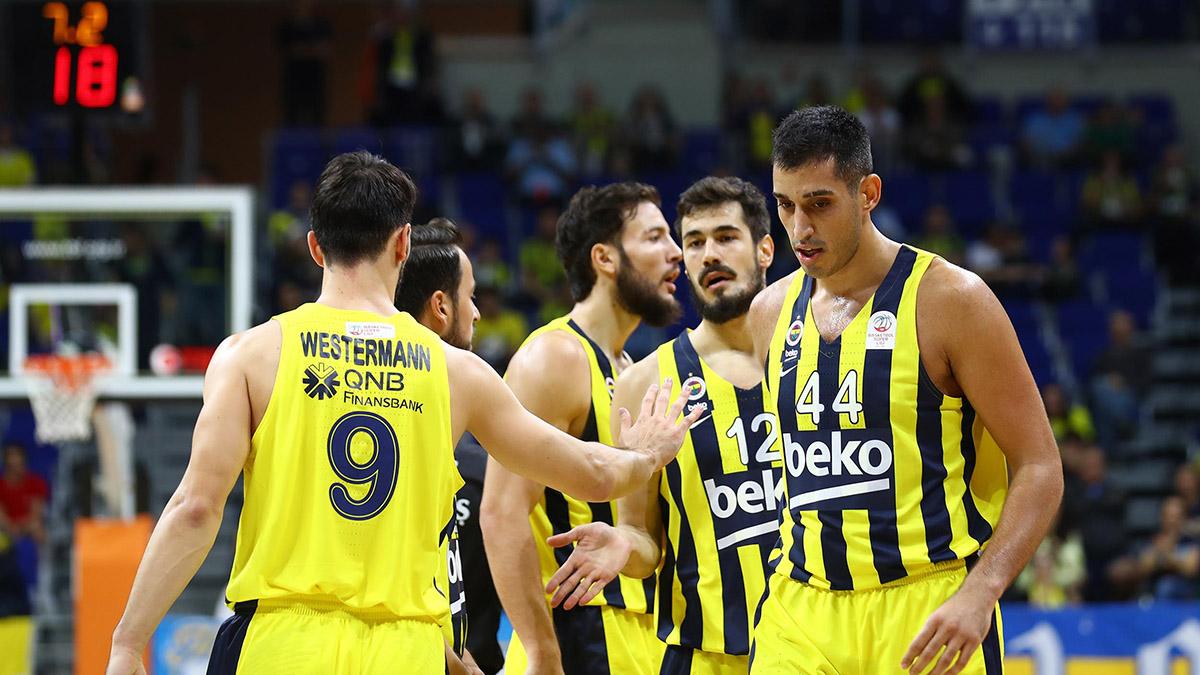 Fenerbahçe Beko 84-80 Beşiktaş Sompo Sigorta
