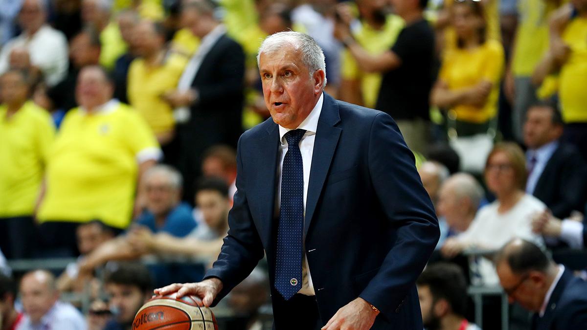 Zeljko Obradovic: Oyuncularımın oynayış şekilleriyle gurur duyuyorum