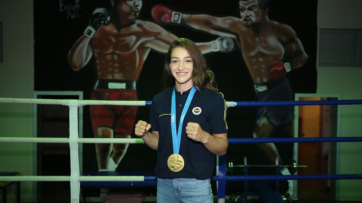 Buse Naz Çakıroğlu: Avrupa Oyunları'ndan altın madalyayla dönmek gurur verici