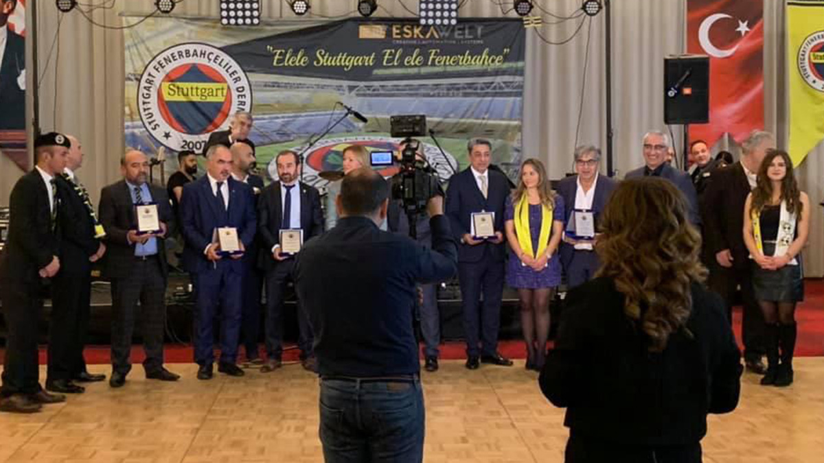 """Stuttgart Derneğimizden """"El ele Stuttgart, El ele Fenerbahçe"""" etkinliği"""