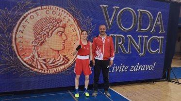 Buse Naz Çakıroğlu'ndan altın madalya