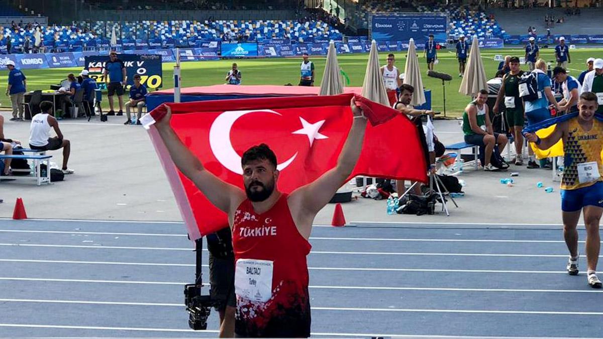 Özkan Baltacı'dan altın madalya
