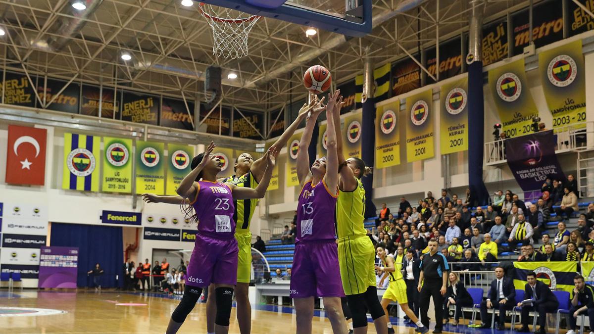 Fenerbahçe 61-62 TTT Riga