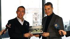 Başkanımız Ali Koç ve Beşiktaş JK Başkanı Fikret Orman derbi öncesi bir araya geldi