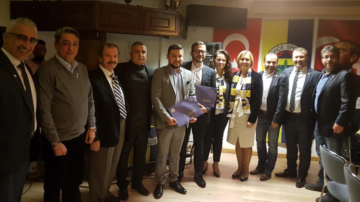 Almanya Fenerbahçe Dernekleri Birliği, Dortmund'da toplandı