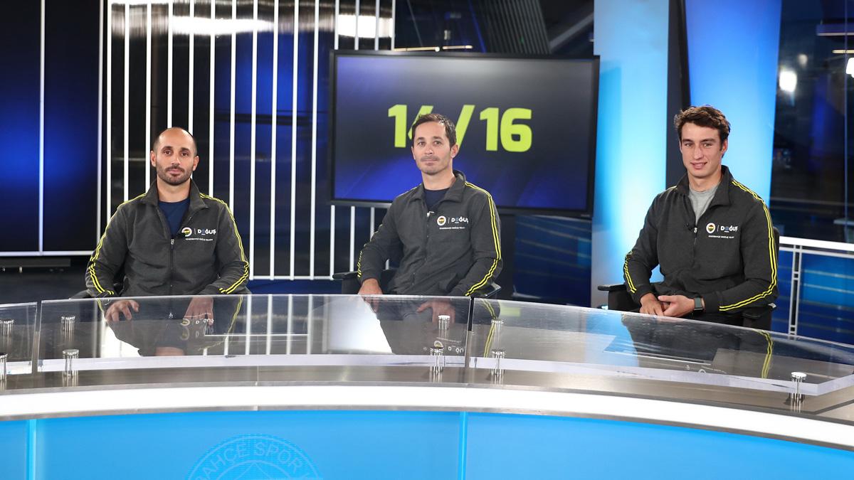 Milli yelkencilerimiz Alp Rodopman, Deniz ve Ateş Çınar, FBTV'nin 14/16 programına konuk oldu