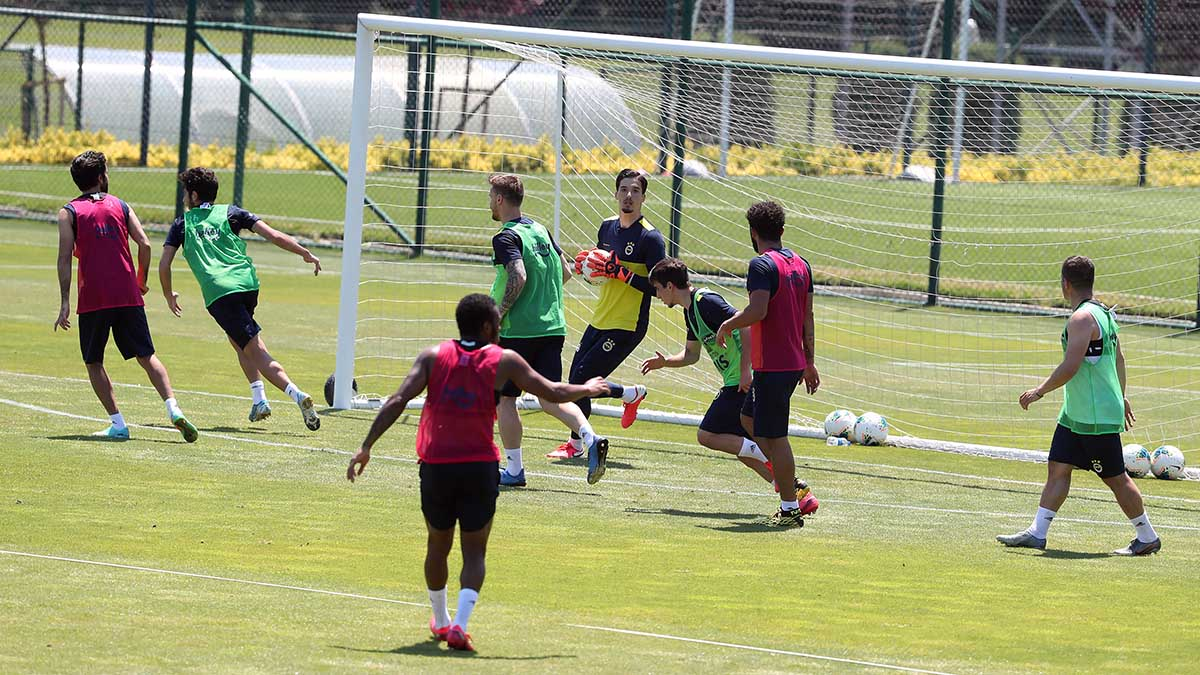 Futbol A Takımımız hazırlıklarını sürdürüyor