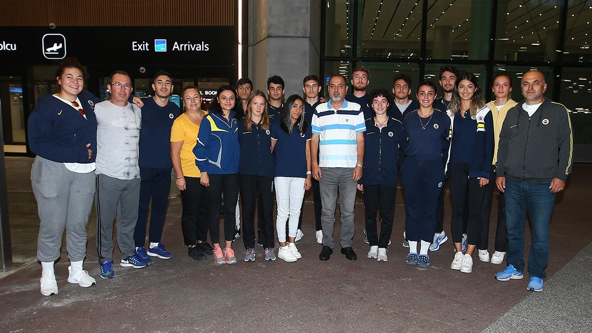 Avrupa Şampiyonu atletlerimiz yurda döndü
