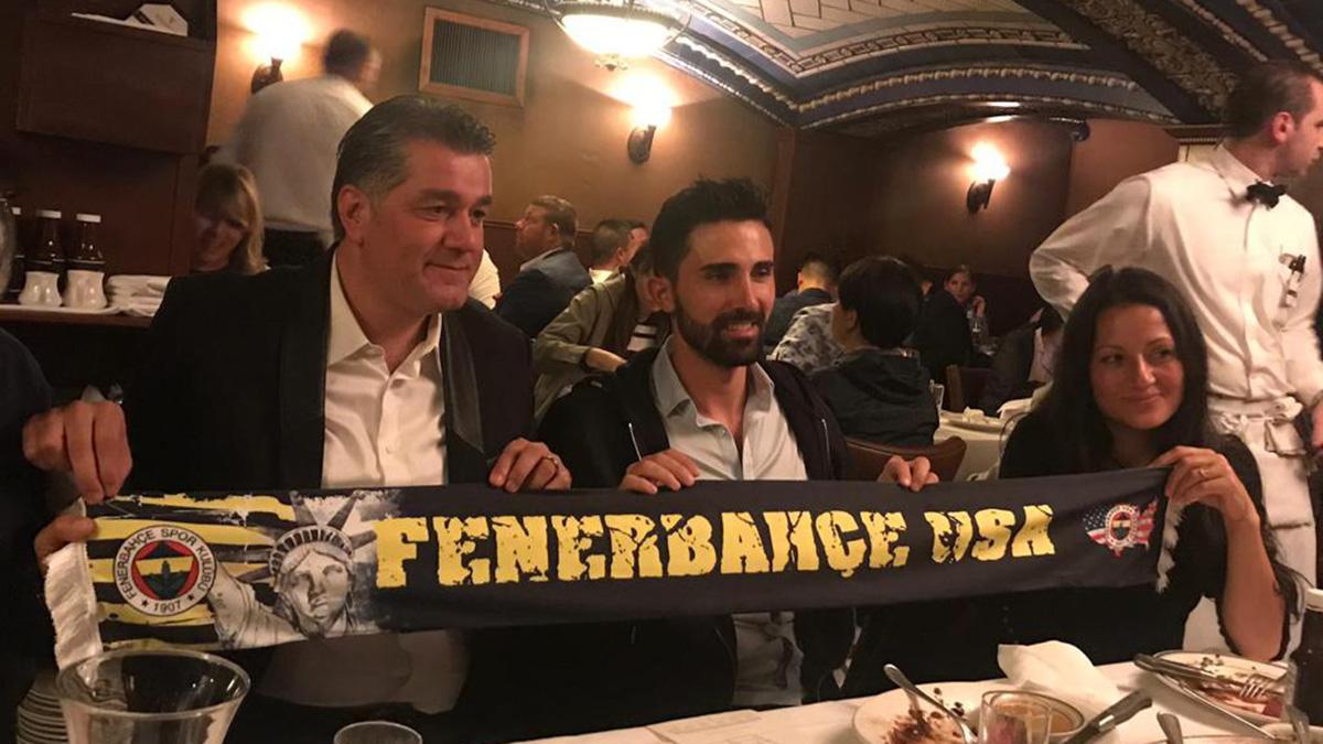 Fenerbahçe USA Derneği, Hasan Ali Kaldırım'la New York'ta bir araya geldi