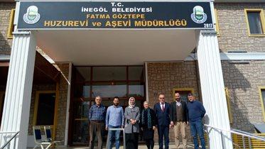 İnegöl Derneğimiz Yaşlılar Haftası'nda Yenice Huzurevi'ni ziyaret etti