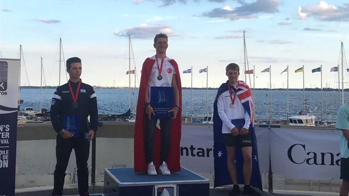 Milli yelkencimiz Yalçın Çıtak üst üste 2. kez Dünya Şampiyonu oldu