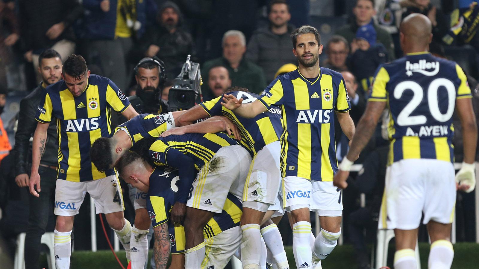 Fenerbahçemiz MKE Ankaragücü karşısında