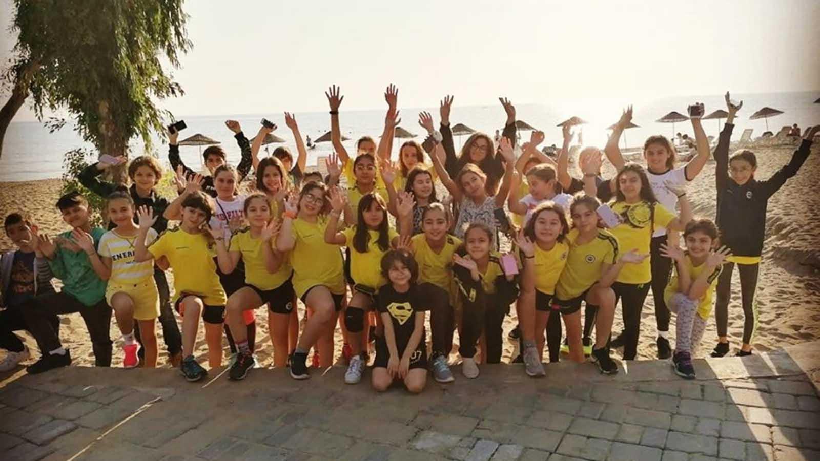 Fenerbahçe Spor Okulları Basketbol – Voleybol kampının 2. günü tamamlandı