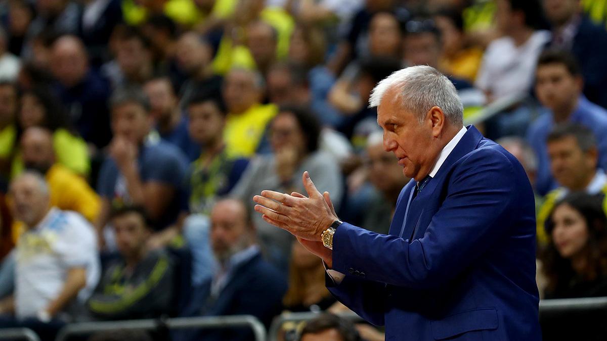 Başantrenörümüz Zeljko Obradovic'in maç sonu açıklamaları