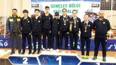 Gençler Marmara Bölge Takım Yarışmaları yapıldı