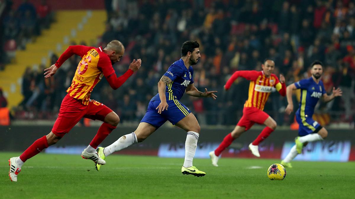 İ.M. Kayserispor 1-0 Fenerbahçe
