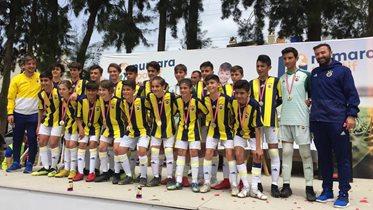 U13 Takımımız da Kuşadası'nda şampiyonluğa ulaştı