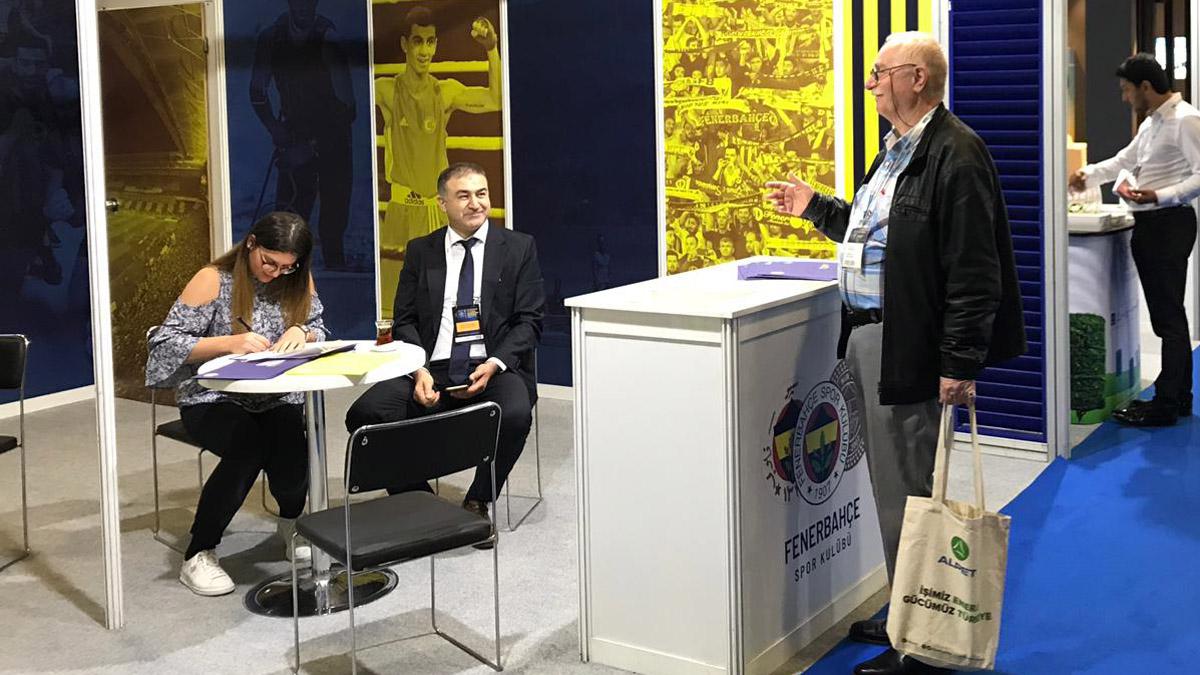 Üye İlişkileri ve Fenerbahçe Çocuk ve Gençlik Kulübü olarak Petroleum Fuarı'na katıldık