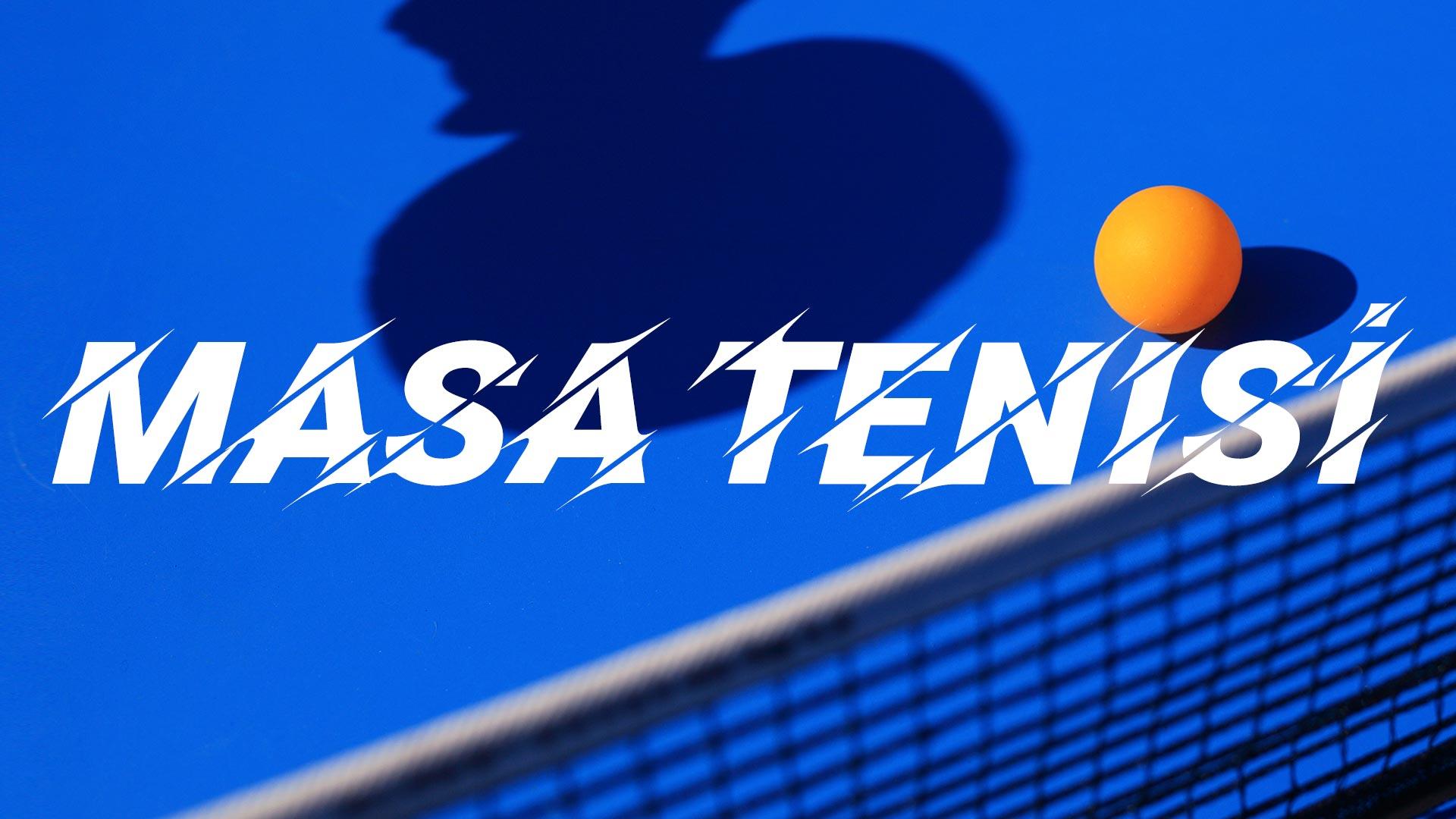 Masa Tenisi Süper Ligi'nde ilk yarı tamamlandı