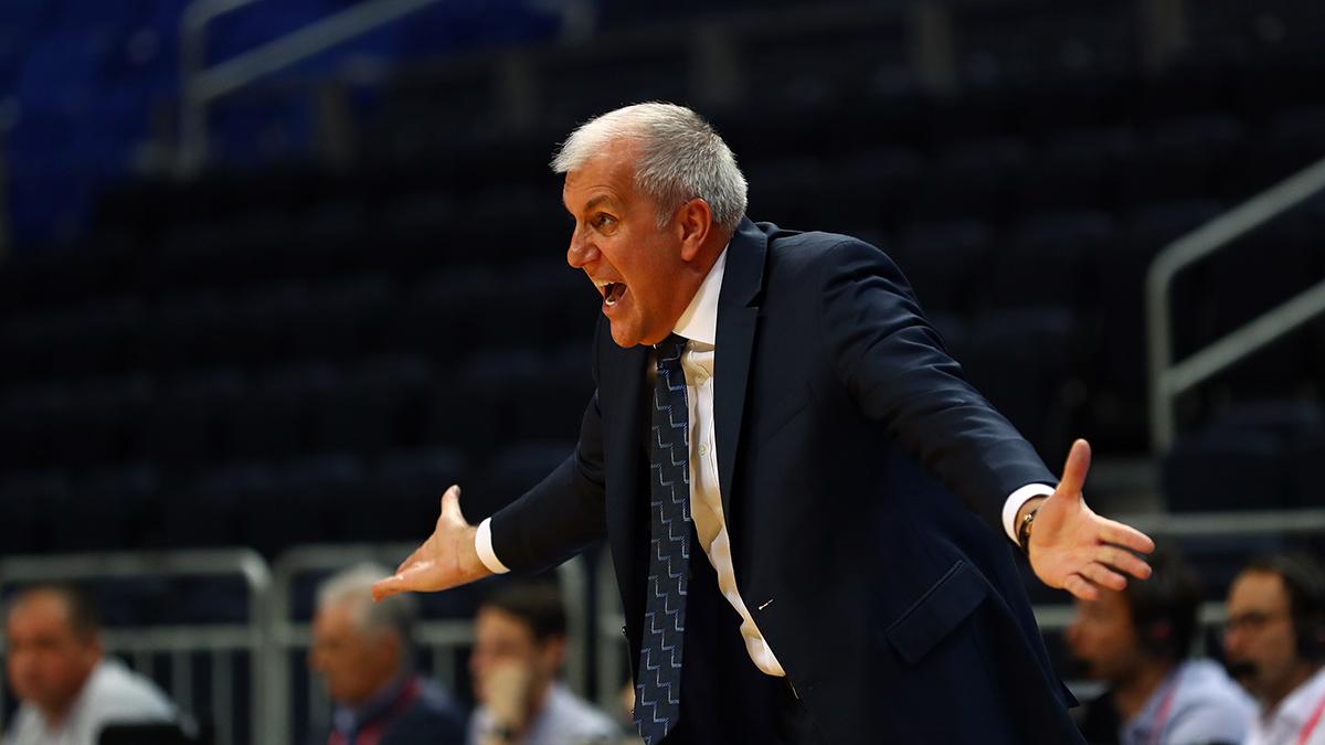 Zeljko Obradovic: Oyuncularımın reaksiyonundan çok memnunum