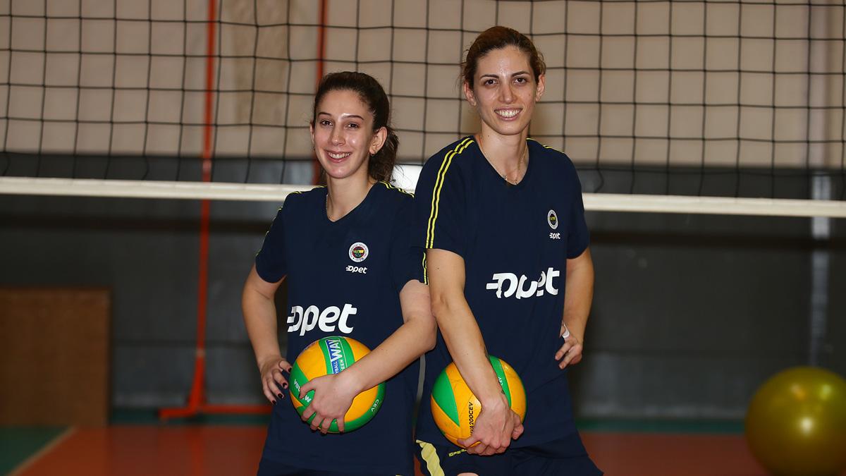 Merve Tanyel ve Bahar Toksoy Guidetti'den Scandicci maçı öncesi açıklamalar