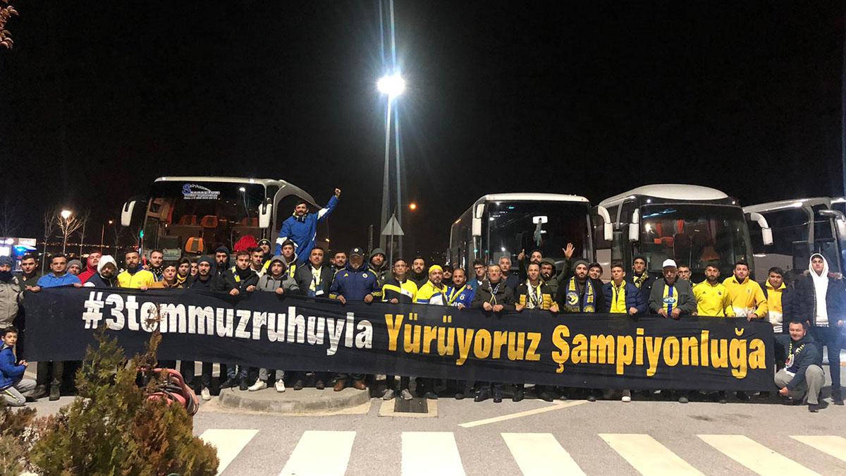 Torbalı Derneğimiz, Medipol Başakşehir maçını stadımızda izledi